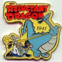Disney Reluctant Dragon dated 1941 pin/pins - $19.34