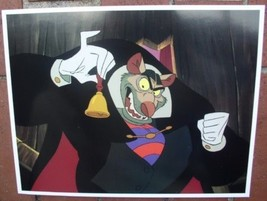 Disney villain Ratigan Great Mouse Detective  Lobby Card - $24.18