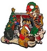 Winnie, Tigger, Eeyore, Piglet Authentic Disney WDW Pin - $25.11