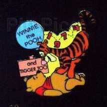 Disney Winnie the Pooh and Tigger 100 Years of Dreams  dated 1997 Pin/Pins - $15.47
