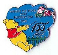 Disney 100 Years of Magic - Winnie the Pooh Blustery Day pin/pins - $46.43