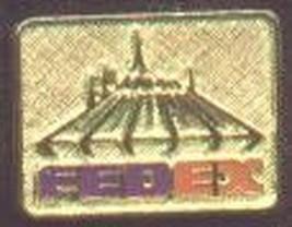 Disney Space Mountain FedEx Lounge pin/pins - $29.02