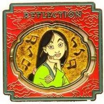 Mulan Reflection Spinner as Mulan Ping  Authentic Disney pin - $24.19