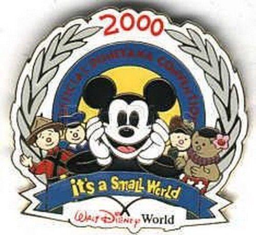 Disney WDW - Disneyana Convention 2000 - Mickey Mouse small world Dolls pin - $24.18