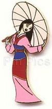 Mulan with Umbrella full body Authentic Disney pin - $24.18