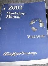 2002 Ford Mercury Villager Van Service Shop Repair Manual 2002 Factory Oem Mini - $59.35