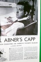"Vintage 1946 Life Magazine Article, ""LI'L Abner's Capp"" - Loose Pages - $3.95"