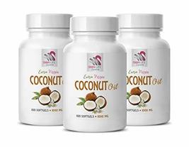 Heart Support Supplements - Extra Virgin Organic Coconut Oil 1000MG - Co... - $38.56