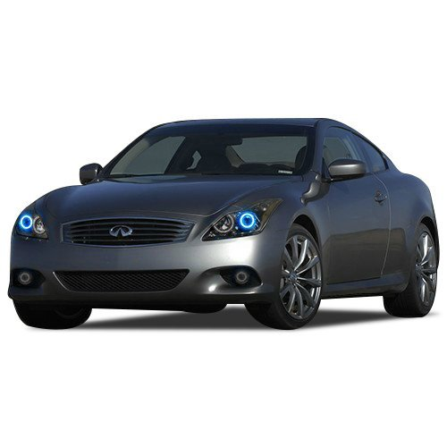Primary image for FLASHTECH for Infiniti Q60 14-15 Blue Single Color LED Halo Ring Headlight Kit