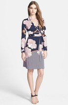 Diane Von Furstenberg New Jeanne wrap dress size 12 - $275.00