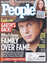 GARTH BROOKS's Back!, Curse of the Getty's @ People Magazine APR 20  2015 - $5.95