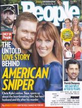 CHRIS & TAYA KYLE American Sniper Love Story @ People Magazine Feb 9 2015 - $4.95