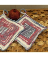 Berry Colors Hanging Potholders - Handmade Kitc... - $14.00
