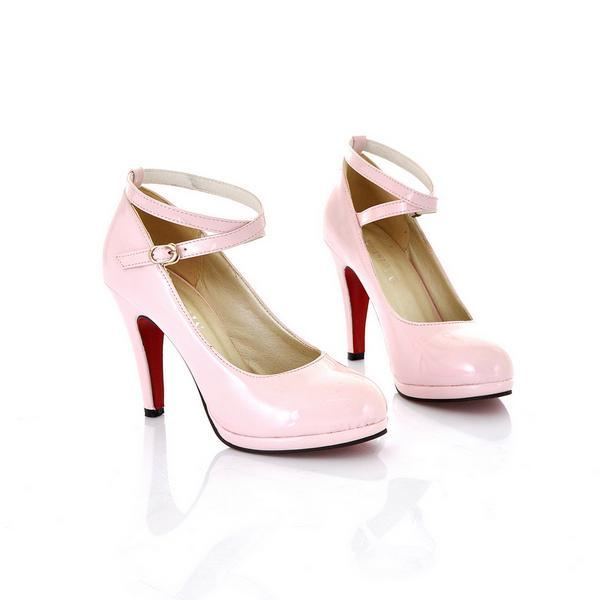 Primary image for 768 Beauty crossed strapy high-heeled pumps, US Siize 5-10.5, pink
