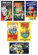 6 Fritz The Cat Magnets - $14.99
