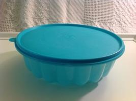 Tupperware Ice Turquoise  Jello Mold - $17.75