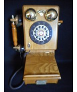 Vintage Spirit of St Louis Old-Fashioned Antique Wood Telephone - $124.94