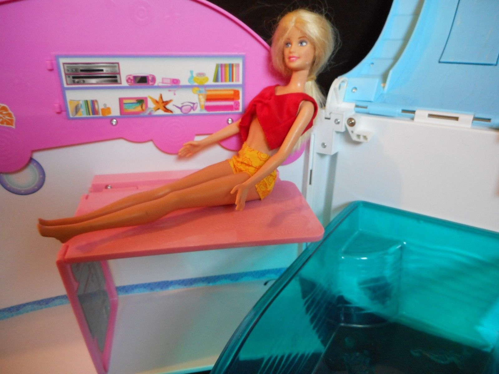 MATTEL BARBIE SISTERS CRUISE SHIP YACHT image 3