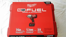 "Milwaukee 1/2"" High Torque Impact Wrench Friction Ring 2 Battery Kit 276... - $499.00"