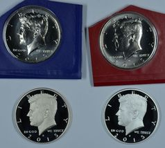 2015 P D S S Kennedy Uncirculated & Proof Half Dollars - $41.00