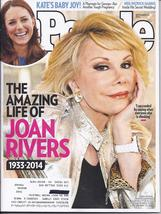 JOAN RIVERS @ People Magazine SEPT 2014  - $2.95