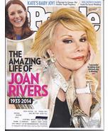 JOAN RIVERS @ People Magazine SEPT 2014  - $4.95