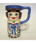 Madeline Coffee Mug Tall Ceramic Collectible - $31.18