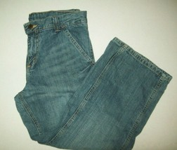 Wrangler Heros Boys Jeans Sz 10 Husky Carpenter Style Blue Jeans Casual ... - $14.80