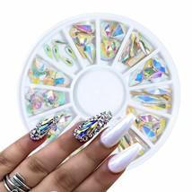Crystal Nail Gems Rhinestone Nail Art Jewelry Diamond Manicure Nail Deco... - $14.50