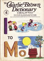 The Charlie Brown Dictionary I to M (Volume 4) [Unknown Binding] - $3.99