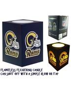 Kids Adults NFL Rams Team Pride Led Lamp Lantern Night Light + Blow Sensor - $19.99