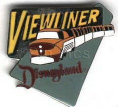 1988  Attraction ViewLiner  ride  Authentic p Disneyland pin - $39.99