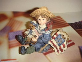 Boyds Yesterday Child Dollstone Betsy With Edmund The Patriots, #3503 - $14.99