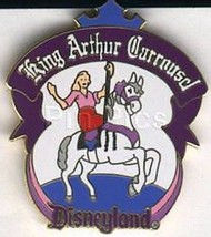 Disneyland - 1998 King Arthur Carrousel  ride Pin/Pins - $65.00