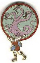 Disneyland  45th Anniv Parade Hercules Dragon  Pin/Pins - $24.99
