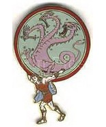 Disneyland  45th Anniv Parade Hercules Dragon  Pin/Pins - $24.18