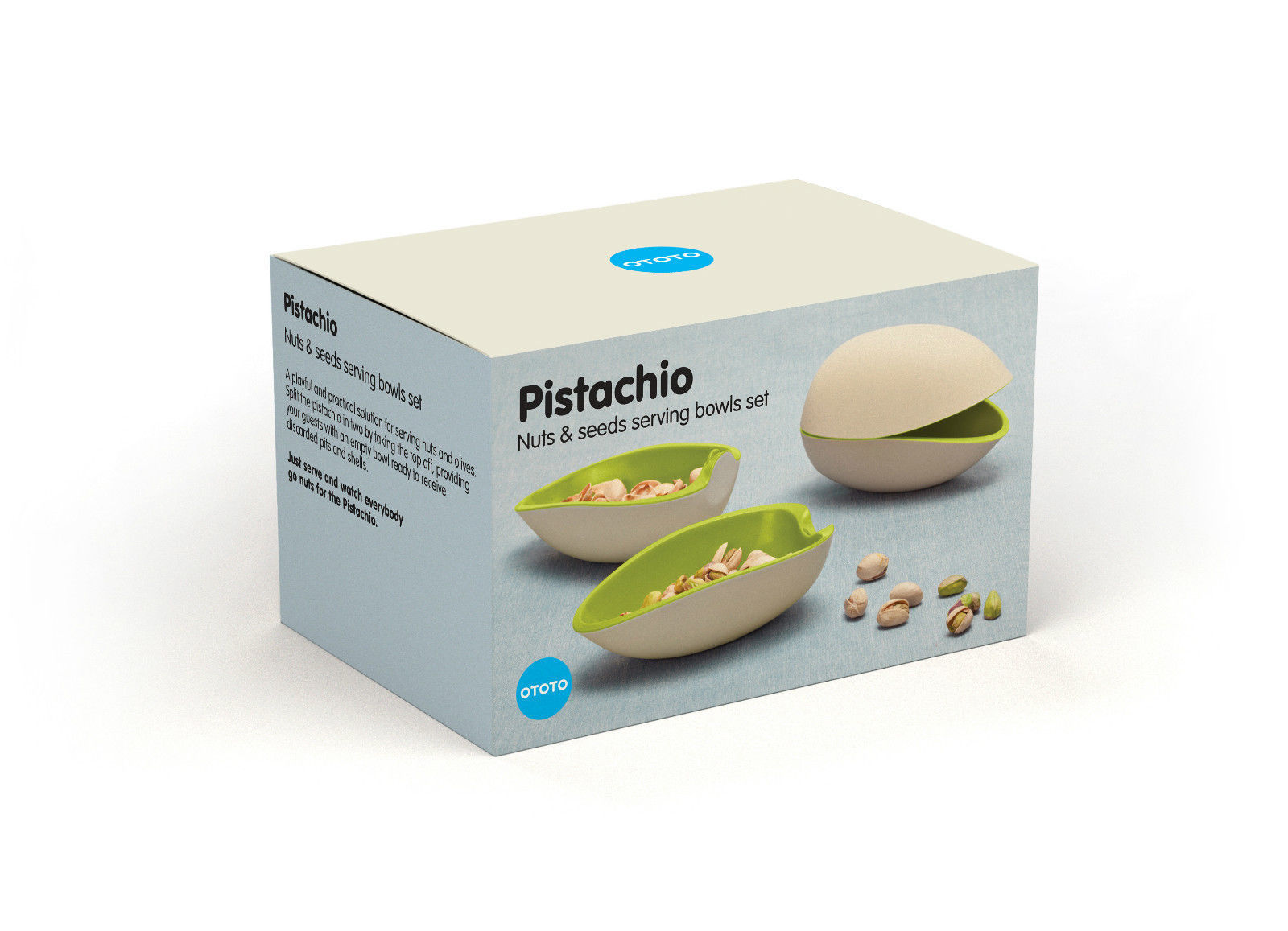 Bowls funky design gifts home lifestyle pistachio olive for Funky household gifts