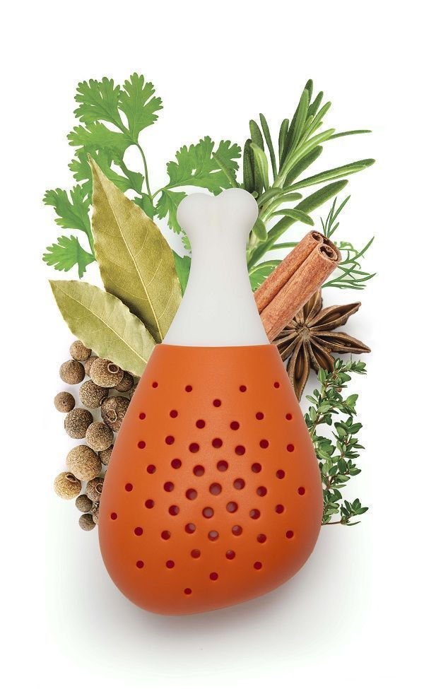 Pulke Herb infuser Kitchen Home Cooking Funky Design Gift OTOTO