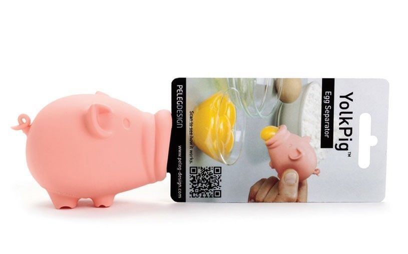 Egg Separator FUNKY Home Kitchen Cake Tools Chef Gifts Design YOLKPIG YOLKFISH