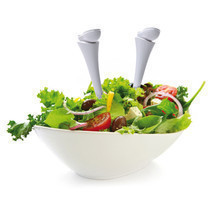 Home Gifts Spoon salad  Tableware Designer Mixing Bowls Decor table Kitchen - €24,34 EUR