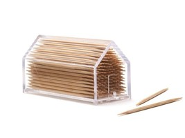 Home Funky Gifts Toothpick Design Chalet Box Dispenser table Decor Kitch... - €26,35 EUR