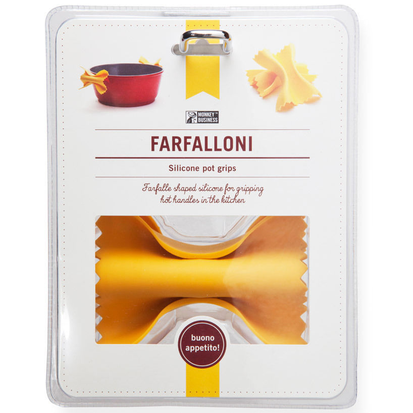 Chef Pasta Funky Gifts Hot Pot Grip SET X 2 Home Kitchen Lifestyle SOHO Present