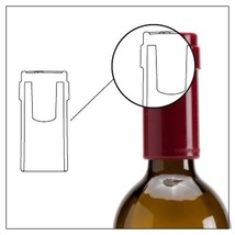 Bottle Stoppers Silicone Kitchen Dining Bar Tools Wine Home Funky Gifts ... - £13.20 GBP