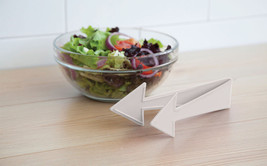 Salad Servers Funky Design Home Gifts Dinner Chef Party table Bowls Dini... - €17,24 EUR
