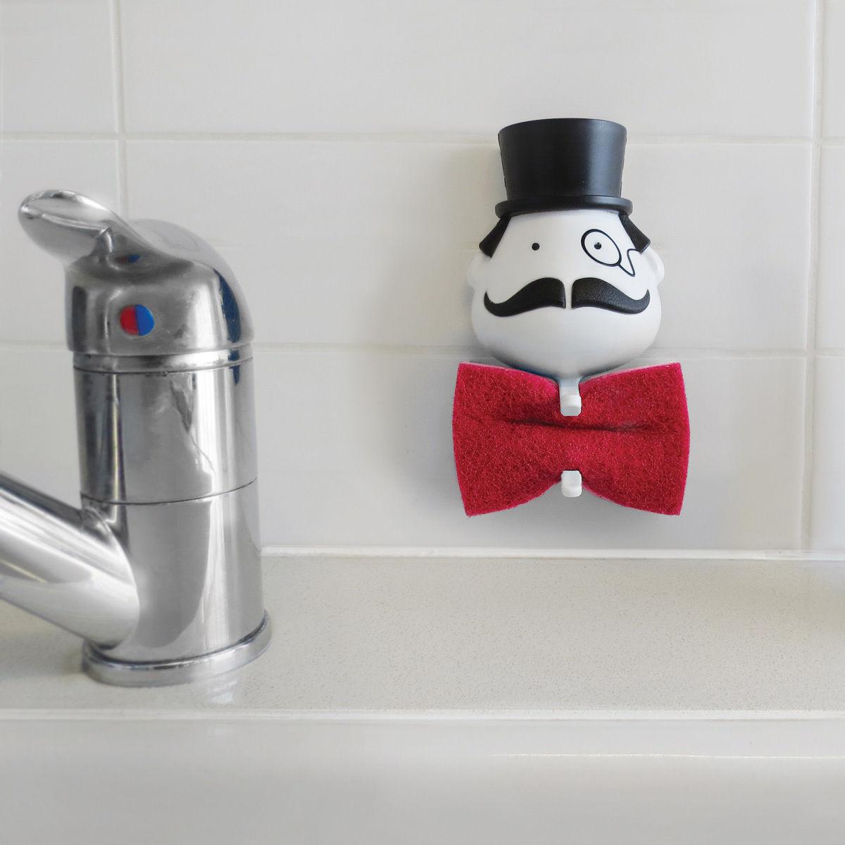 Gifts Sponge holder Funky Design Present Home Kitchen Sink Storage Racks Decor