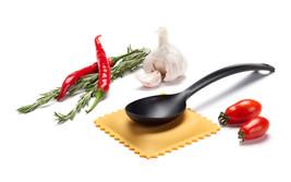Italian Home Kitchen Gifts Funky Design Ravioli Spoon rest Pasta Chef Sp... - $21.00