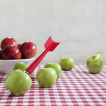 Kitchen Gifts peeler Apple Chef Tools Decor Food Funky Red Arrow Design ... - £11.29 GBP