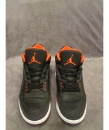 "Nike Air jordan 3 Retro ""Crimson"" Style # 136064-005 Size 12 - $108.90"