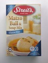 Streit's Matzo Ball & Soup Mix Gluten Free 4.5 Oz Boxes (3 Pack) - $19.97