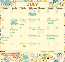 Family Planner, Fridge Calendar, Home Organization Calendar. - $19.99